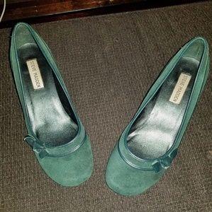 Emerald green Steve Madden pumps - 7.5